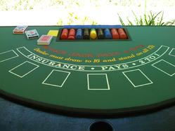 Folding craps table for sale
