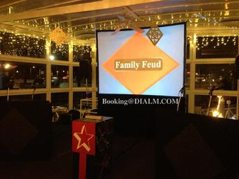 family feud game show team building los angeles las vegas #DIALM